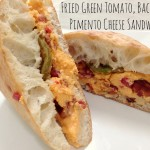 Fried Green Tomato, Bacon, & Pimento Cheese Sandwich