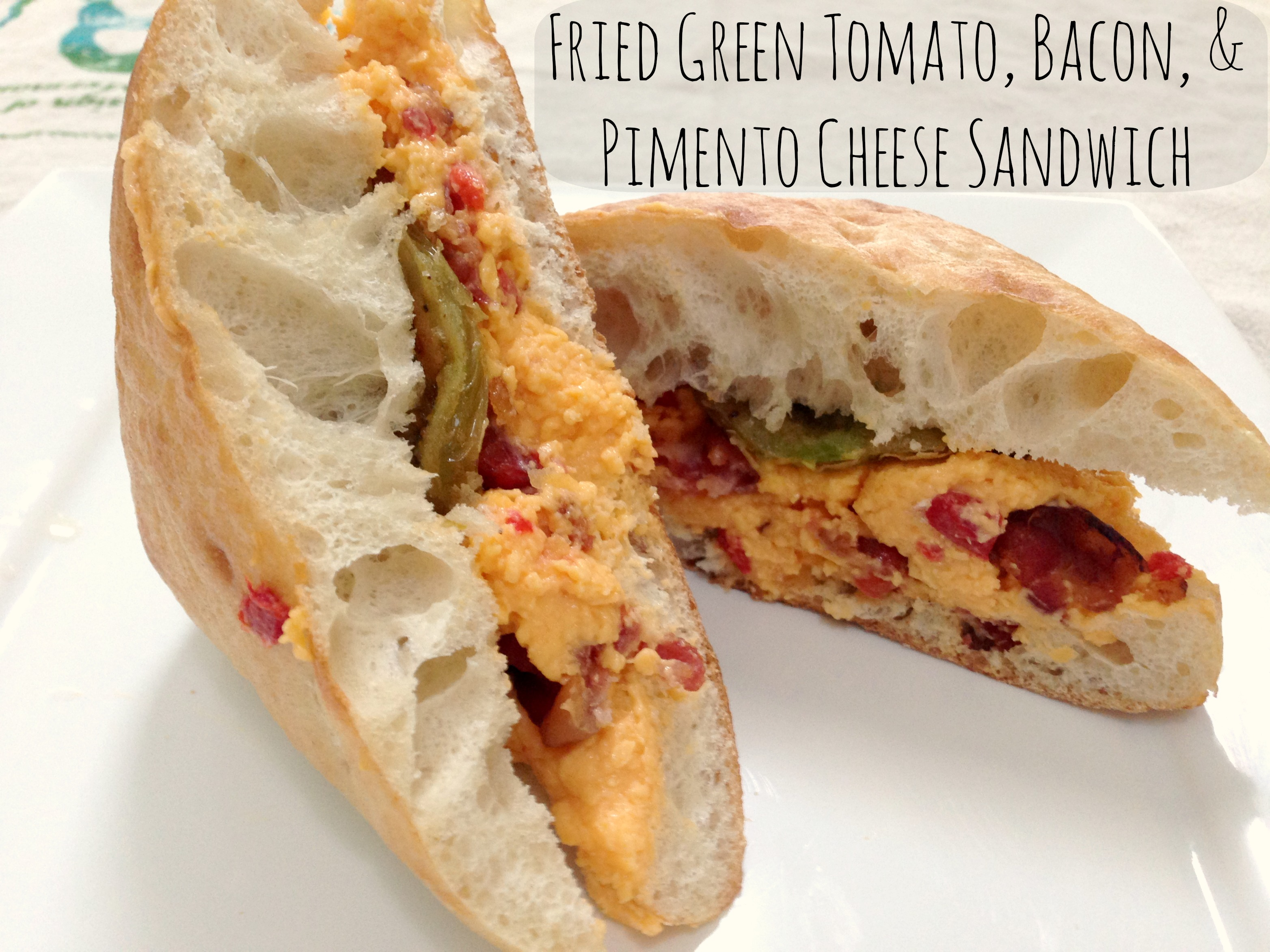 jam pimento cheese pimento cheese pimento cheese fried green tomato ...