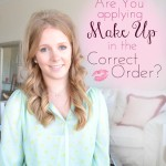 The Correct Order to Apply Make Up