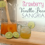 Strawberry Vanilla Bean Sangria Recipe