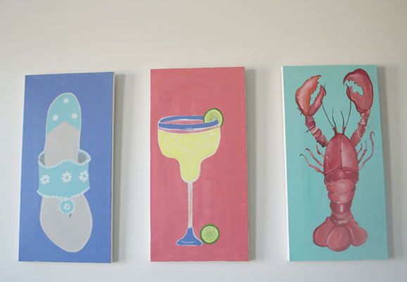 Beach House Paintings 2