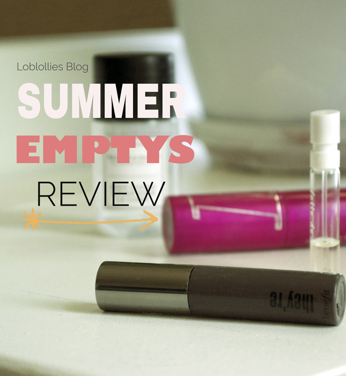 Summer Empty Products Review