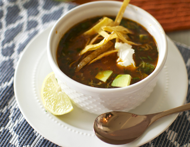 Tortilla Soup - Loblollies Blog
