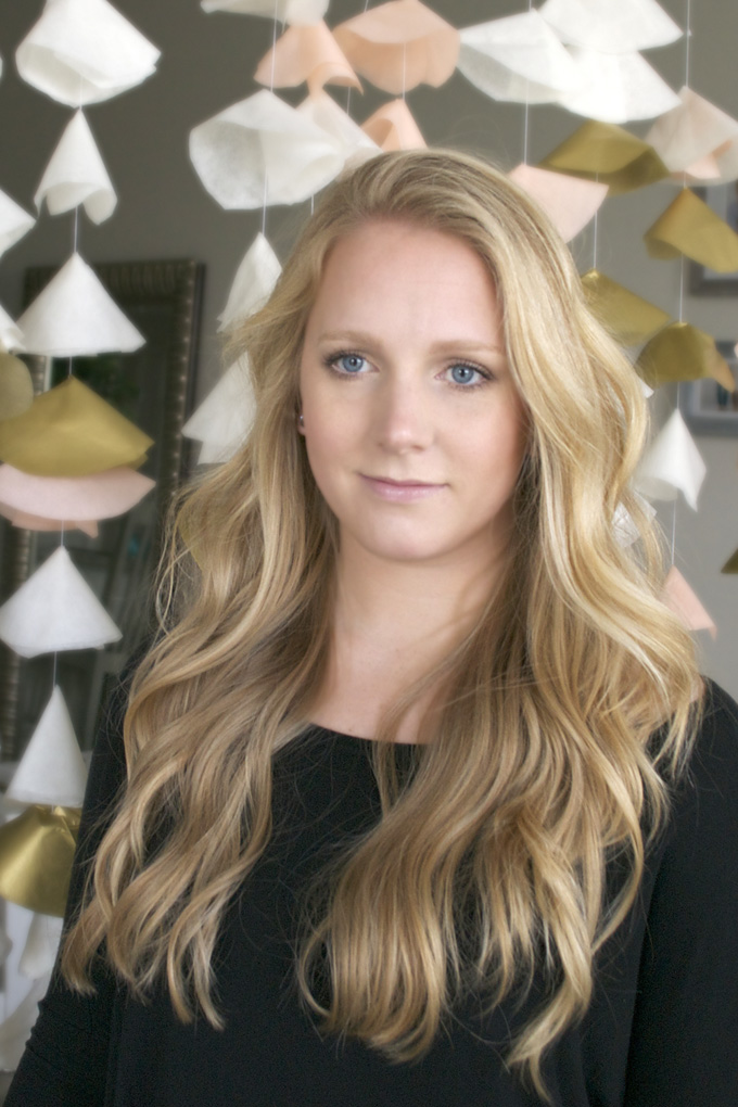 Quick and Easy Curling Iron Waves